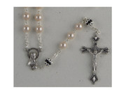 Rosary: Mother of Pearl 6mm White (RX256W)