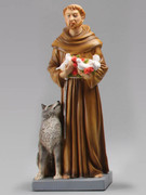Indoor/Outdoor Statue: St Francis 40cm (STF4012)
