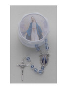 Glass Rosary & Box: Miraculous (RX36907)