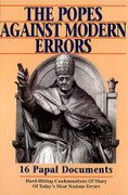 Book: The Popes against Modern Errors (POPES AGAINST)