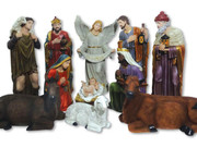 Nativity Set 11 pieces Fibreglass 100cm (NS10011)