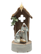Nativity Scene All-in-one 24cm with light(NST1970)