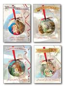 Budget Christmas Cards Pkt 8 (CDX2062)