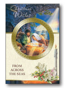 """Christmas Cards """"From Across the Sea"""" Pk6 One designs (CDX9907)"""