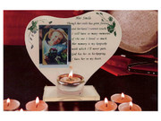 Memorial Frame/Candle: Her Smile (GE3567)