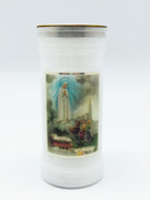 Devotional Candle: Our Lady of Fatima