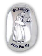 Thumb Stone: St Francis (TS123)