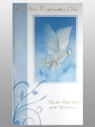 Confirmation Card: Blue Dove (Pack 6)(CDF7274)