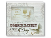 Confirmation Gift: Wood Photo Frame (PLF5534)