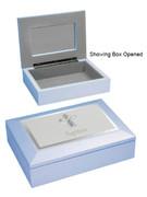Baptism Gift: Keepsake Box Blue (PLB60125)