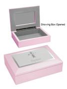Baptism Gift: Keepsake Box Pink (PLB60095)