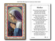 Holy Cards (pkt100): Prayer for Mother (HC734842)