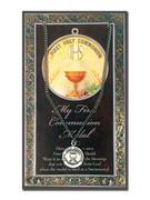 Pewter Communion Medal & Card (LF9695)