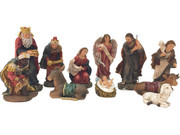 Nativity Set: 11 pieces, 12cm (NS10024)
