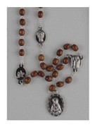 Dolor (Seven Sorrows) Rosary Chaplet Brown (RO201ADN)