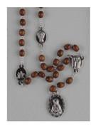 Dolor (Seven Sorrows) Rosary Chaplet Brown (RO201ADN)