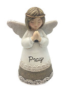 Little Blessing White Angel: Pray(ST7019)