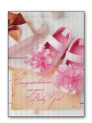 Card (each): Baby Girl 3D/Hologram(CD34506e)