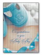 Card (each): Baby Boy 3D/Hologram(CD34507e)