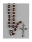 Franciscan 7 Decade Wood Rosary Brown (RX202FRN)