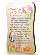 Magnet Plaque: Thinking of You (MG99740)