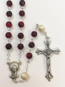 Rosary: Glass 6mm Red (RX6120RB)