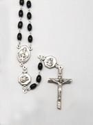 Wood Rosary 6mm Black (RX4162K)