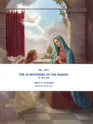 Set of Prints(20x25cms): 20 Mysteries of the Rosary (PI1471)