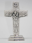 Pope Francis' Standing Cross: Good Shepherd 11.5cm (CR100)