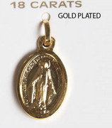 18kt Gold Plated Pendant: Miraculous 16mm (ME1414)
