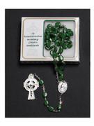 Rosary: Irish Shamrock Bead (RX410)