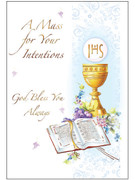 Mass Intention Cards (6): For Living (CD13502)