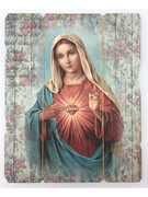Vintage Frame: Immaculate Heart Mary (PL20002)