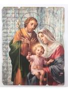 Vintage Frame: Holy Family (PL20004)