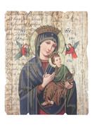 Vintage Frame: Our Lady Perpetual Help (PL20033)