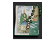 Rosary Bracelet: Irish Shamrock (RB410)