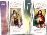 Cards (6) Birthday Religious(CD22137)