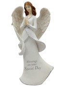 Resin Angel 20cm:  Blessings Special Day(HA8001)