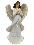 Resin Angel 16cm:  Confirmation(HA8012)