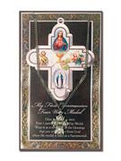 Pewter Communion 4 Way Cross & Card (LF9689)