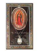 Pewter Medal: Our Lady of Guadalupe (LF9216)