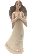 Angel with Praying Hands: Pastel Colours, 15cm (ST8116)