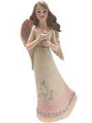 Angel with Cup: Pastel Colours, 15cm (ST8117)