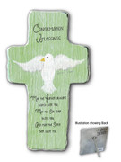 Confirmation Gift: Metal Cross with Dove (SIM105)