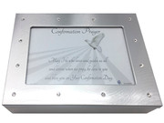 Diamante Keepsake Box: Confirmation (PLF30003)