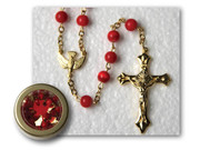 Rosary & Box: Confirmation Red (RX33076R)