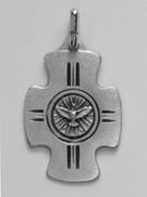Confirmation Medal: Cross/Spirit (CR367F)