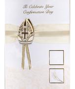 Confirmation Cards(Pack 6): Handcrafted Bishop Hat(CD28102)