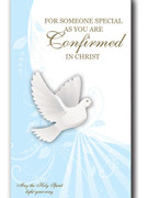 Confirmation Cards(Pk6): Blue Dove (CDF5524)