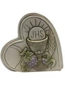 Communion Gift: Heart & Symbols 6cm (PL5068)